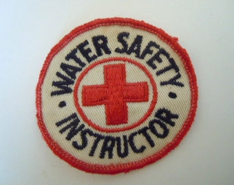 Red Cross Water Safety Instructor Patch