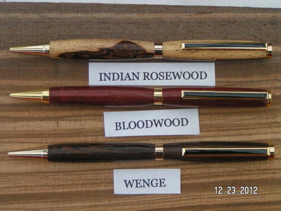 1st Infantry Division Custom Military Ballpoint Pen Inlaid Wood