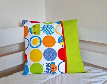 cushion cover 40 * 40, bird motifs