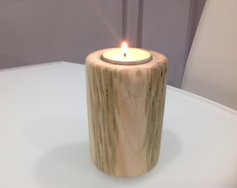 Scots Pine Tee Tree Candle Holder