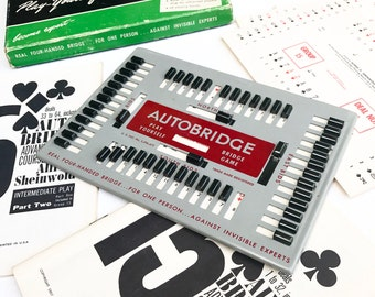 Vintage Auto-Bridge Game (1957)