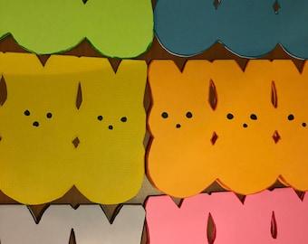Bunny Peep Cards