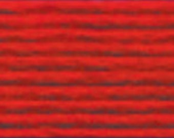 DMC Floss 321 - Red, 100% Cotton, Cross Stitch thread, Needlepoint thread, needlework thread, needlepoint floss, needlepoint floss