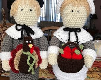 Crochet pilgrims