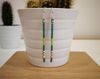 Delica earrings