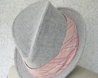 Tweed Trilby Hats--Custom Made