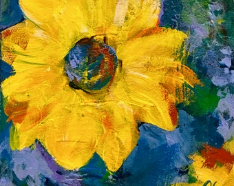 The Days of Summer Sun - Original Floral Painting