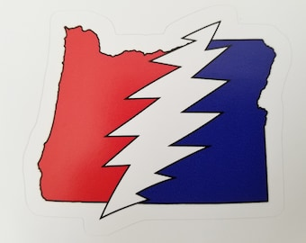 Oregon State Deadhead Sticker