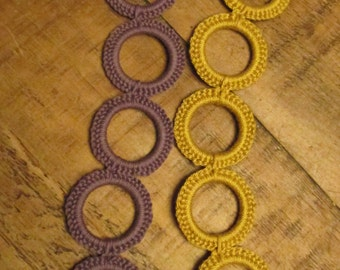 Crochet Ring Braclet