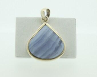 Silver Agate pendant (SKU503)
