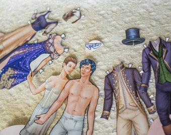 Cinderella paper dolls BONUS edition!, Egyptian costumes, activity set, fairy tale, Halloween costumes