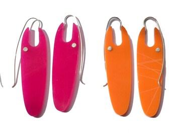 LANG-Ohrringe in verschiedenen Farben