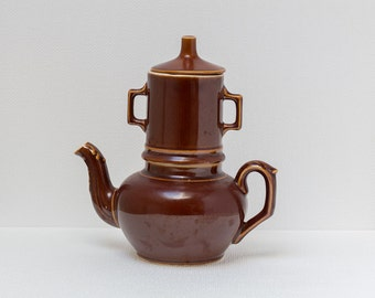 Stoneware coffee pot