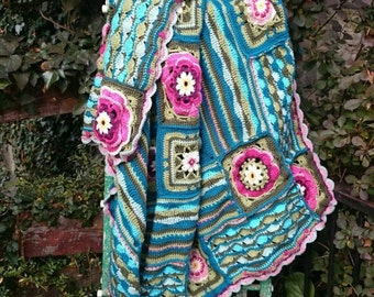 Crochet Lilypond blanket