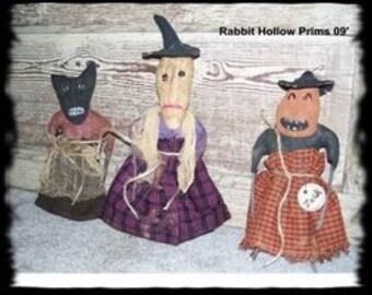 Primitive Halloween Freaky Friends