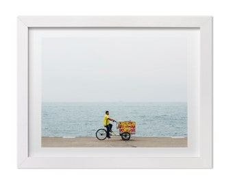 Chicago Photography, Summer in Chicago Art Print, Lake Michigan Art, Chicago Print, Summer Art, Beach Photography, Large Wall Decor