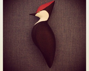 Pileated Woodpecker ornament