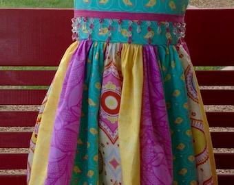 Party dress, little girls Easter Dress/party dress/custom made