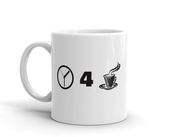 Time for Coffee Mug