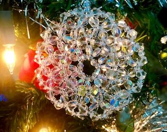 Czech Crystal Hand-made Beaded Ornaments
