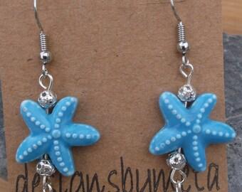 Mermaid Inspired drop earrings