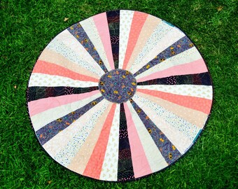 With a Cherry on Top- Circle Playmat Quilt