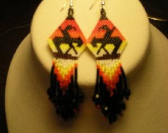 Native American, End of the Trail Earrings