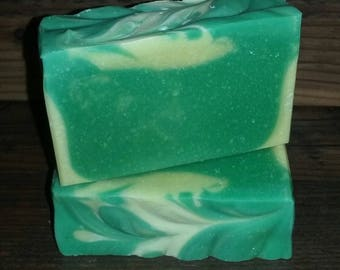 Lemongrass Essential Oil Soap ~  5oz. to 6oz.