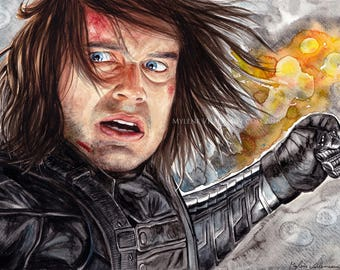 The Winter Soldier Prints