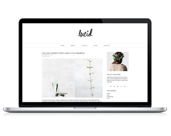 "wordpress theme ""lucid"" - blog design template - modern"