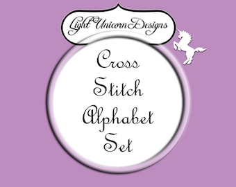 Alphabet Set Number 24 Cross Stitch Pattern