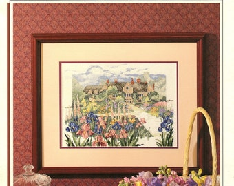 Manor House - Color Charts Cross Stitch Pattern - Paul Brent