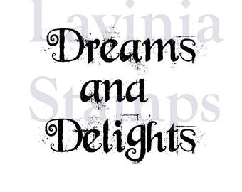Lavinia Stamps Clear Rubber Stamp - Dreams and Delights