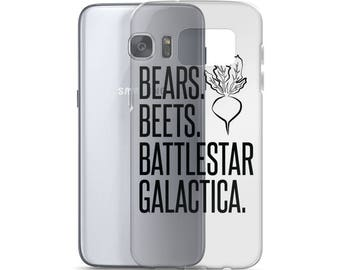 Bears Beets Battlestar Galactica Samsung Case