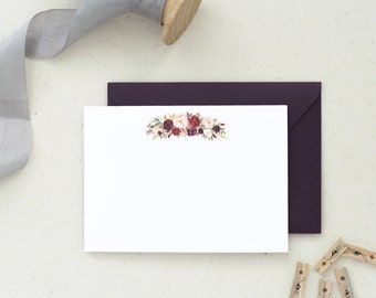 Valentine's Gift. Stationery Set. Note Cards. Thank You Cards. Wedding Thank You Cards Bulk. Wedding Thank You Notes. Floral Thank You 18