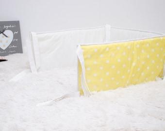 Universal Crib Bumper 100% Cotton