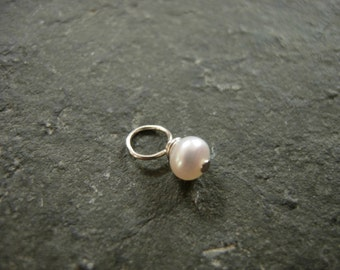 Special Order for Cathy, Freshwater Pearl Charm