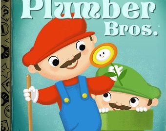 The Little Plumber Bros. - 8x10 PRINT