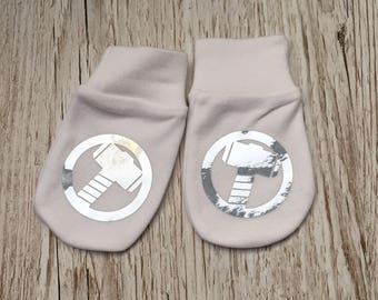 Marvel Avengers Thor Inspired Baby Scratch Mitts