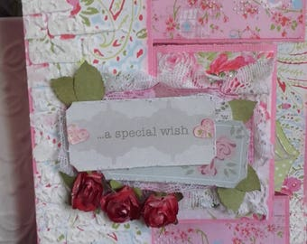"""A Speciual Wish"" romantic card"