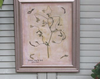 Botanical Mixed Media Art: Which way to go?