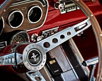 Classic Ford Mustang - Home Decor, Gifts for Him, Wall Art, Garage Decor