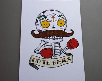 El Boxeador Archival Art Print 5 x 7