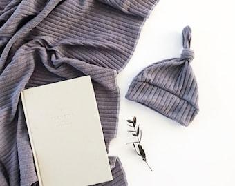Baby Swaddle- the | Ash | Grey Swaddle Blanket