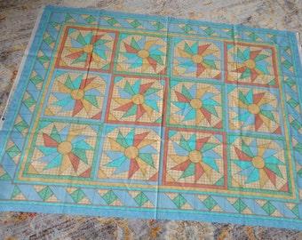 VIP Cranston  Geometric Pattern Cotton Fabric Panel