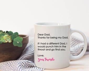 Father's Day Mug| World's best Dad| Gift| Mug| Coffee| Coffee Lovers| Beard| Mustache