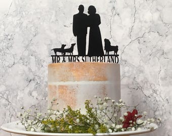 Pet Wedding Cake Topper, Personalised Cake Topper, Cake Topper With Dog, Custom Cake Topper, Cake Topper With Cat, Cake Topper with Horse