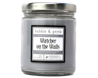 Watcher on the Walls Scented Soy Candle - 8 oz