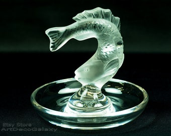 Lalique Fish Ring Tray