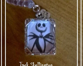 Handmade Nightmare Before Christmas theme phone jack charm
